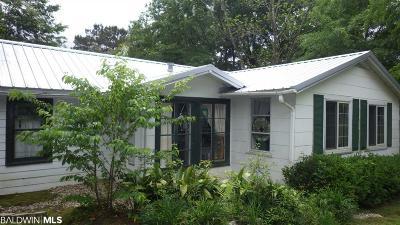 Fairhope Single Family Home For Sale: 668 Fairhope Avenue