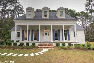 Fairhope Single Family Home For Sale: 23183 Dovecote Ln