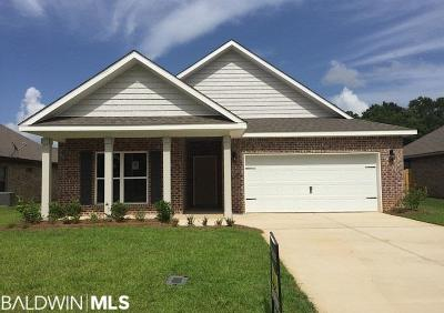 Foley Single Family Home For Sale: 1543 Kairos Loop