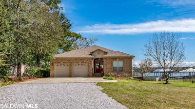 Mobile County Single Family Home For Sale: 3262 Dog River Road