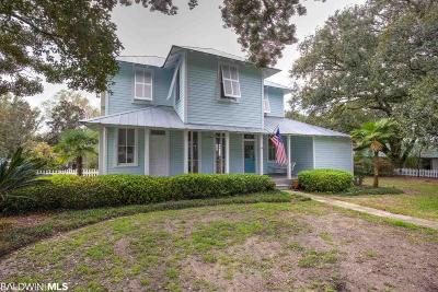 Daphne, Fairhope, Spanish Fort Single Family Home For Sale: 62 Fels Avenue