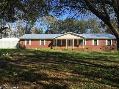 Fairhope Single Family Home For Sale: 12790 Roy Henderson Lane