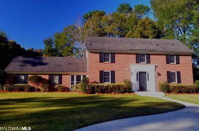 Fairhope Single Family Home For Sale: 697 Cedar Avenue