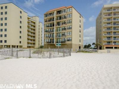 Gulf Shores Condo/Townhouse For Sale: 511 E Beach Blvd #606