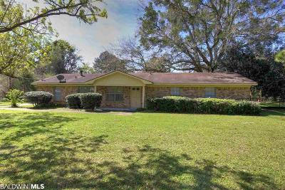 Fairhope Single Family Home For Sale: 19097 Highway 181