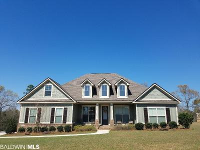 Spanish Fort Single Family Home For Sale: 31857 Wildflower Trail