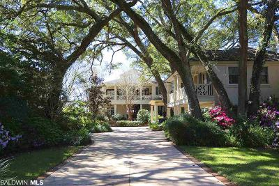 Fairhope Single Family Home For Sale: 16433 Scenic Highway 98
