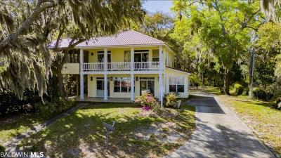 Gulf Shores Single Family Home For Sale: 12839 State Highway 180