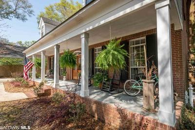 Fairhope Single Family Home For Sale: 309 Perdido Avenue