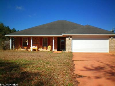 Elberta Single Family Home For Sale: 24803 Old Foley Rd