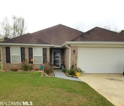Foley Single Family Home For Sale: 16654 Sugar Loop