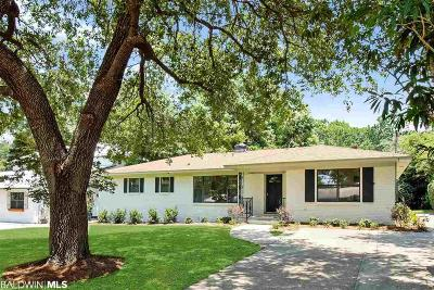 Fairhope Single Family Home For Sale: 213 Orange Avenue