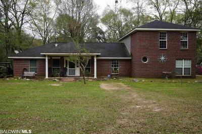 Foley Single Family Home For Sale: 13740 Ray Gardner Ln