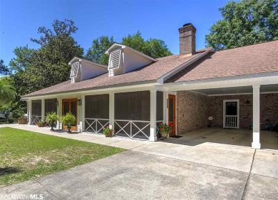 Fairhope Single Family Home For Sale: 5821 Rivenbark Lane