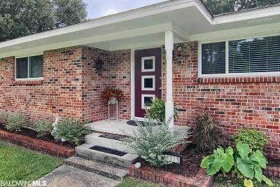 Bon Secour, Daphne, Fairhope, Foley, Magnolia Springs Single Family Home For Sale: 7311 Riverwood Drive East