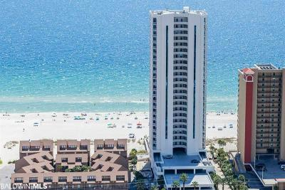 Gulf Shores Condo/Townhouse For Sale: 521 W Beach Blvd #1001