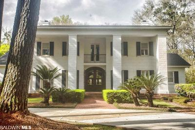 Fairhope Single Family Home For Sale: 7225 Sibley Street