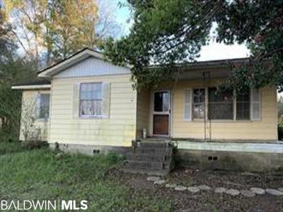 Mobile County Single Family Home For Sale: 7515 Three Notch Rd
