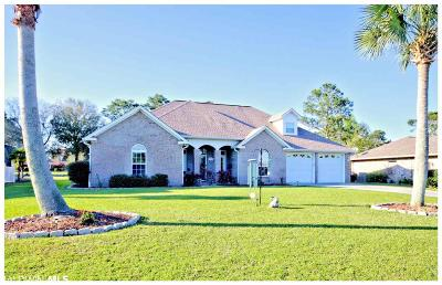 Foley Single Family Home For Sale: 9345 Lakeview Drive