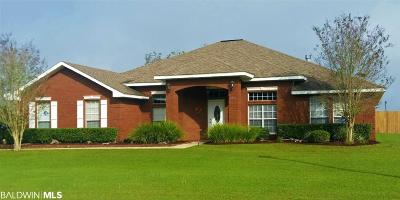 Bon Secour, Daphne, Fairhope, Foley, Magnolia Springs Single Family Home For Sale: 1055 Orlando Drive