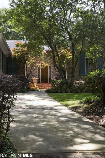 Bon Secour, Daphne, Fairhope, Foley, Magnolia Springs Single Family Home For Sale: 500 Lea Avenue