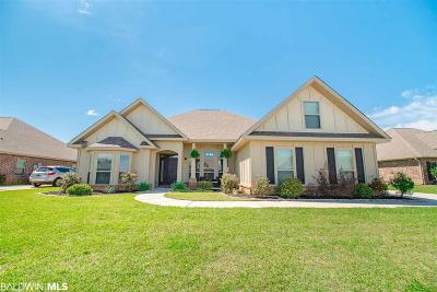 Bon Secour, Daphne, Fairhope, Foley, Magnolia Springs Single Family Home For Sale: 23847 Doireann Street