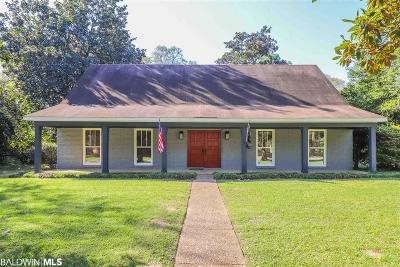 Mobile County Single Family Home For Sale: 5955 S Shenandoah Road