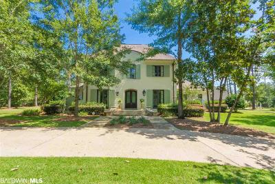 Bon Secour, Daphne, Fairhope, Foley, Magnolia Springs Single Family Home For Sale: 28459 Beau Chene Court