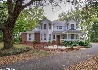 Fairhope Single Family Home For Sale: 16760 County Road 3