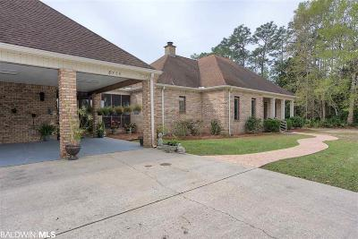 Baldwin County Single Family Home For Sale: 8756 Crawford Road
