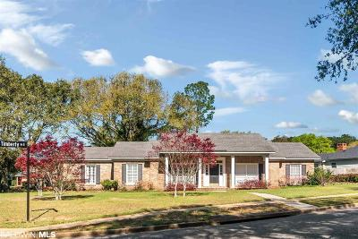 Mobile County Single Family Home For Sale: 6000 Cherry Ridge Court