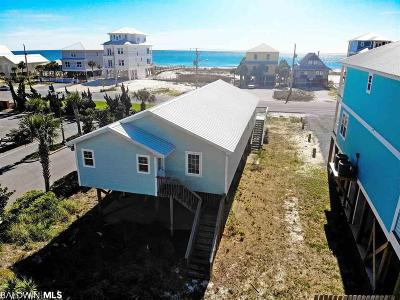 Gulf Shores Single Family Home For Sale: 1532 W Beach Blvd