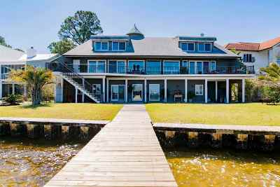 Orange Beach, Gulf Shores Single Family Home For Sale: 31210 Dolphin Drive