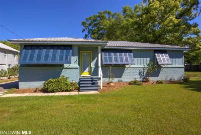 Fairhope Single Family Home For Sale: 709 Fairhope Avenue