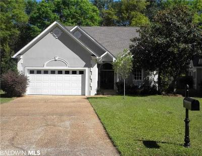 Fairhope Single Family Home For Sale: 110 Chestnut Ridge