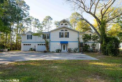 Gulf Shores Single Family Home For Sale: 18570 State Highway 180