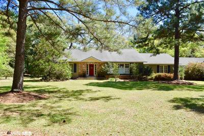 Fairhope Single Family Home For Sale: 361 S Church Street