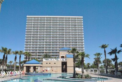 Gulf Shores Condo/Townhouse For Sale: 1010 W Beach Blvd #1602