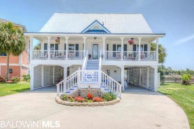 Orange Beach, Gulf Shores Single Family Home For Sale: 4146 Harbor Road
