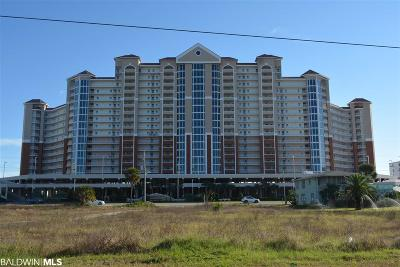 Gulf Shores, Orange Beach Condo/Townhouse For Sale: 455 E Beach Blvd #711