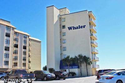 Gulf Shores Condo/Townhouse For Sale: 505 E Beach Blvd #1D