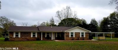 Foley Single Family Home For Sale: 10202 Longview Dr
