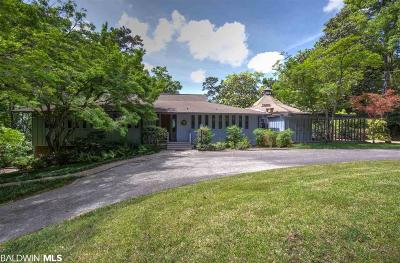 Fairhope Single Family Home For Sale: 23389 Main Street