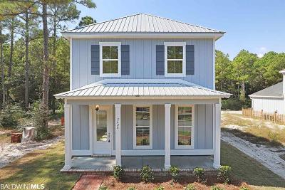 Gulf Shores Single Family Home For Sale: 2620 Bienville Avenue