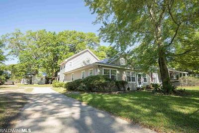 Fairhope Single Family Home For Sale: 160 Ettle Street
