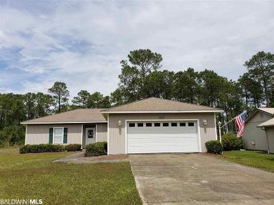 Orange Beach Single Family Home For Sale: 24957 Wolf Bay Terrace