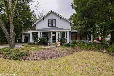 Fairhope Single Family Home For Sale: 311 Fels Avenue