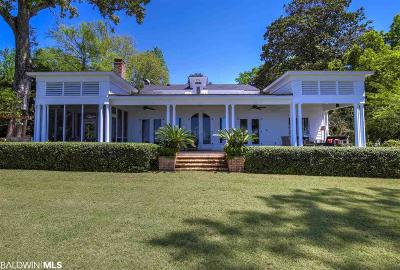 Fairhope Single Family Home For Sale: 865 Sea Cliff Drive