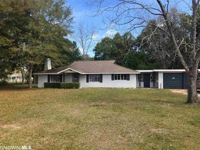 Silverhill Single Family Home For Sale: 13801 White Road