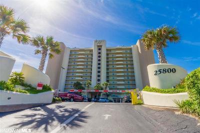 Orange Beach Condo/Townhouse For Sale: 25800 Perdido Beach Blvd #608